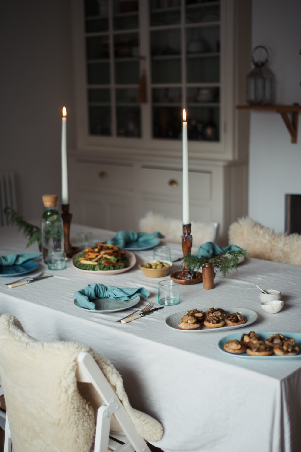 Food with Friends, a winter tonic. With Denby | Hannah Bullivant
