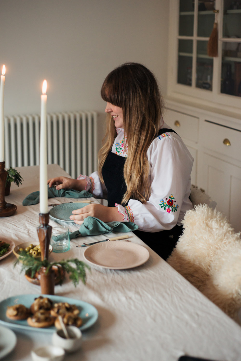 Food with friends: a winter tonic. With Denby | Hannah Bullivant