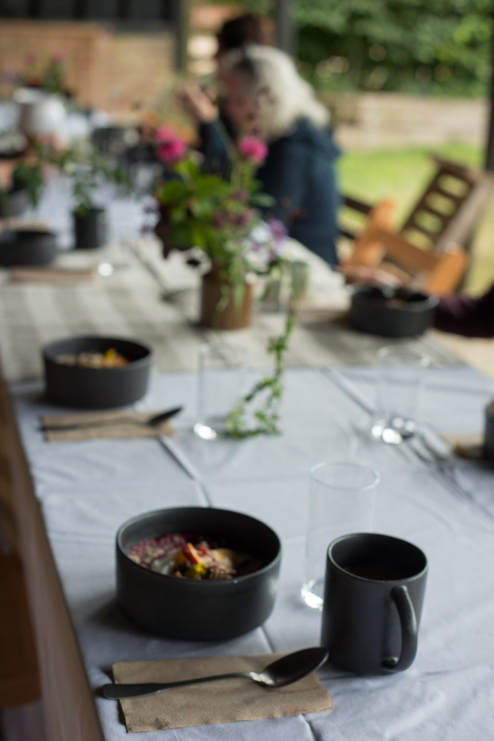 Breakfast bowls on retreat | hannahbullivant.com