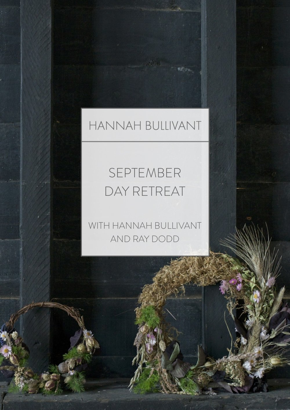 September Day Retreat | Hannah Bullivant