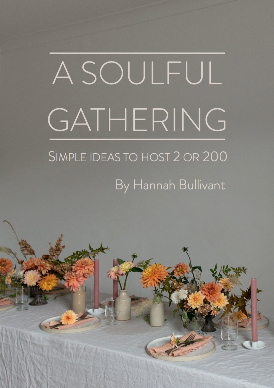 A Soulful gathering: Simple ideas to host 2 or 200