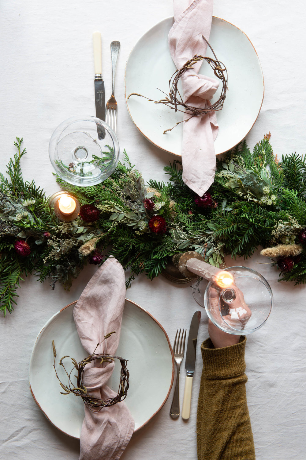 5 steps to lay a simple and festive table