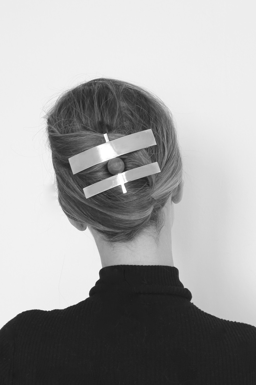 BRANCUSI BARRETTE by Sophie Buhai