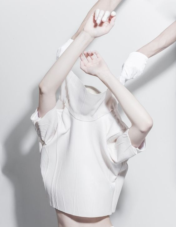 Melitta Baumeister Graduation Collection - via Thisispaper Magazine
