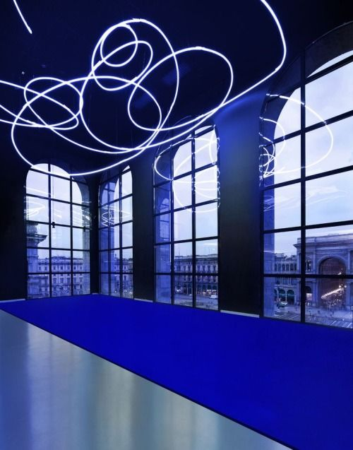 Yves Klein - Lucio Fontana - Milan Paris 1957-1962 Exhibition Museo Del Novecento, Milan