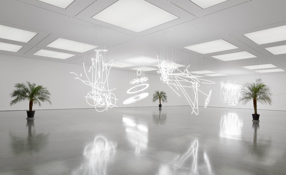 Cerith Wyn Evans - White Cube