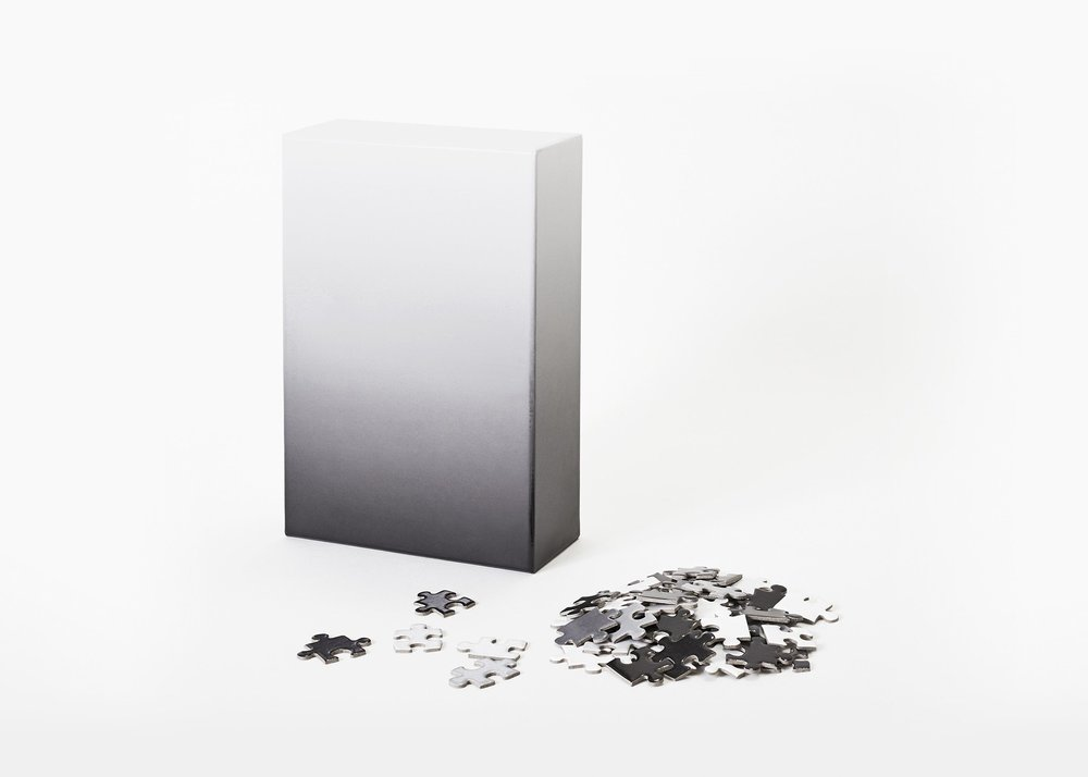 Black & White Gradient Puzzle by AREAWARE | New York City $ 20 LEARN MORE