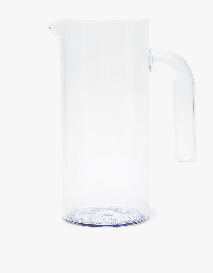Glass Speckled Pitcher by GOOD THINGS | New York City $ 62 LEARN MORE