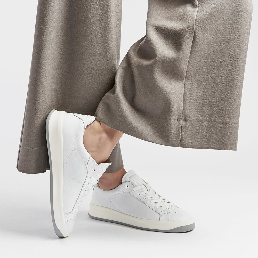 Premium Unisex Leather Sneakers by VOR | Munich  € 349    L  EARN MORE