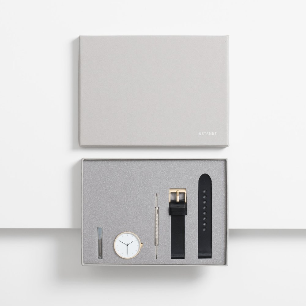 Limited Edition Watch in collaboration with  Dezeen  by INSTRMNT | Glasgow € 250   LEARN MORE