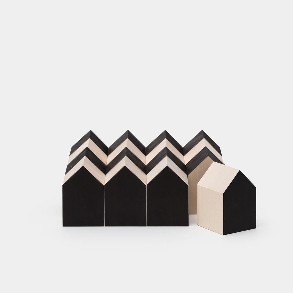 Architecture Inspired Wooden Blocks by CINQPOINTS | Paris $ 75   LEARN MORE