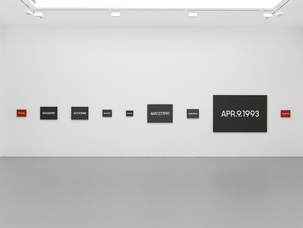 On Kawara, Date Painting(s)