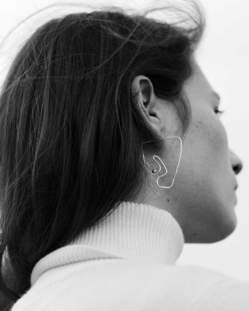 Deconstructed Nude Earring by KNOBBLY X LAURIE FRANCK | Tel Aviv $ 78   L  EARN MORE