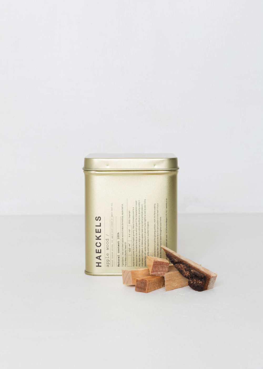 Natural Apple Wood Incense by HAECKELS | Margate € 24 LEARN MORE
