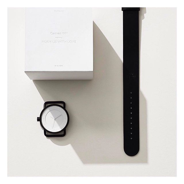 Canvas 001 – by Stockholm-based watch brand TID. Canvas is a collaborative concept which invites a selection of artists and designers to interpret the brand's iconic No.1 watch. The Swedish design studio Form Us With Love is the first to set their tone on the watch by stripping it to its bare minimum - white, monochrome and dismantled. Limited Edition. Price £165. @tidwatches • TID are part of our Gift Guide. We've put together a personal and considered selection of items that we feel would make a beautiful gift. Head over to goodswelike.com to explore the full selection. Link in bio. #inspiration #giftguide #watch #buylessbutbetter