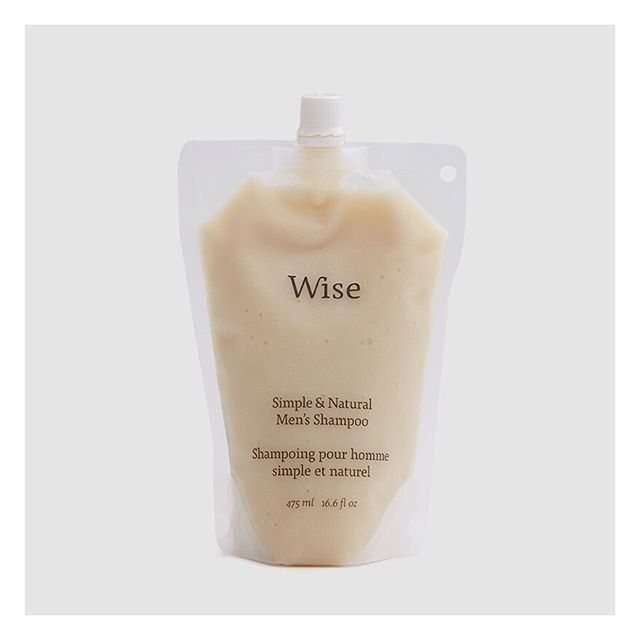 We recently came across Montreal-based Wise - a brand that makes thoughtful, carefully-sourced and natural personal care products for men… down to the last ingredient and packaging. @wisemenscare • Made with the highest quality therapeutic ingredients, their Birch Bark shampoo is packed with botanical essential oils including birch bark and eucalyptus extract and cedarwood. Really appreciate the fact that they come in reusable and refillable glass bottles. #wise #consciousgrooming #buylessbutbetter #inspiration