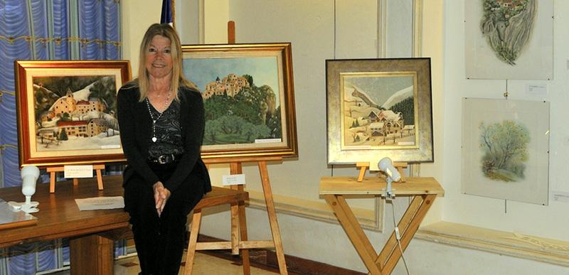 """2014 : Exposition """"La-Haut sur la montagne"""". Photo JL Dorget."""