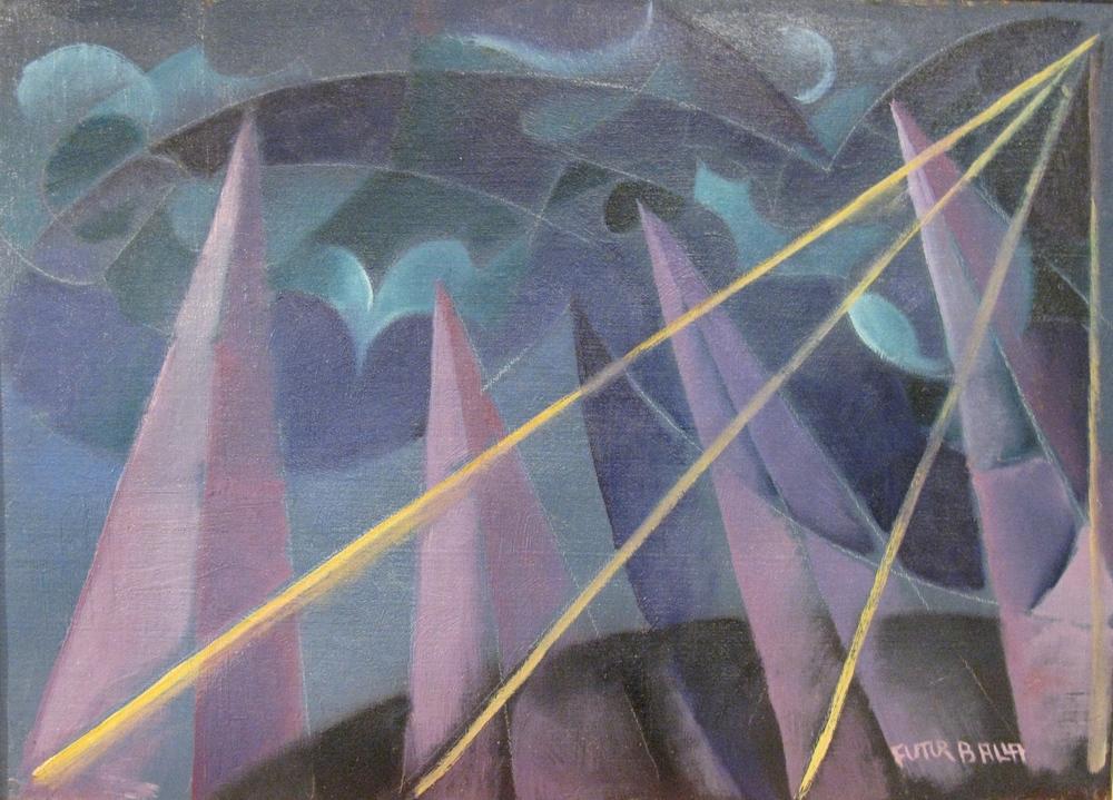 Trasformazioni Forme Spiritio, 1918