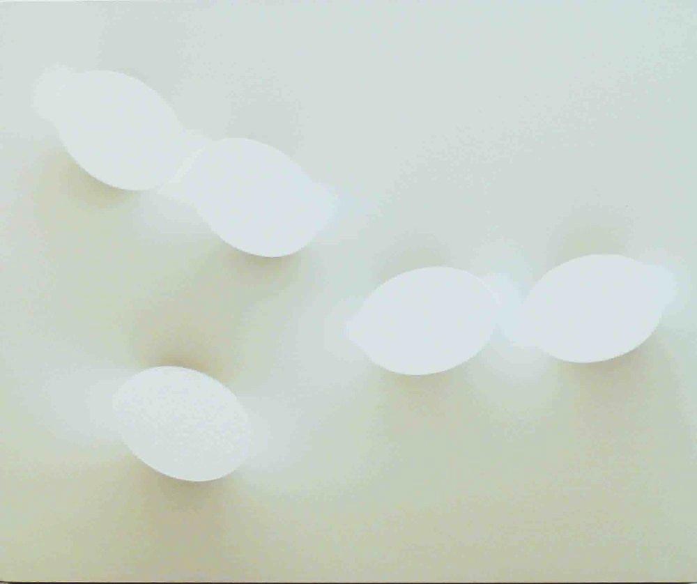 Cinque Ovali Color Sabbia, 2008