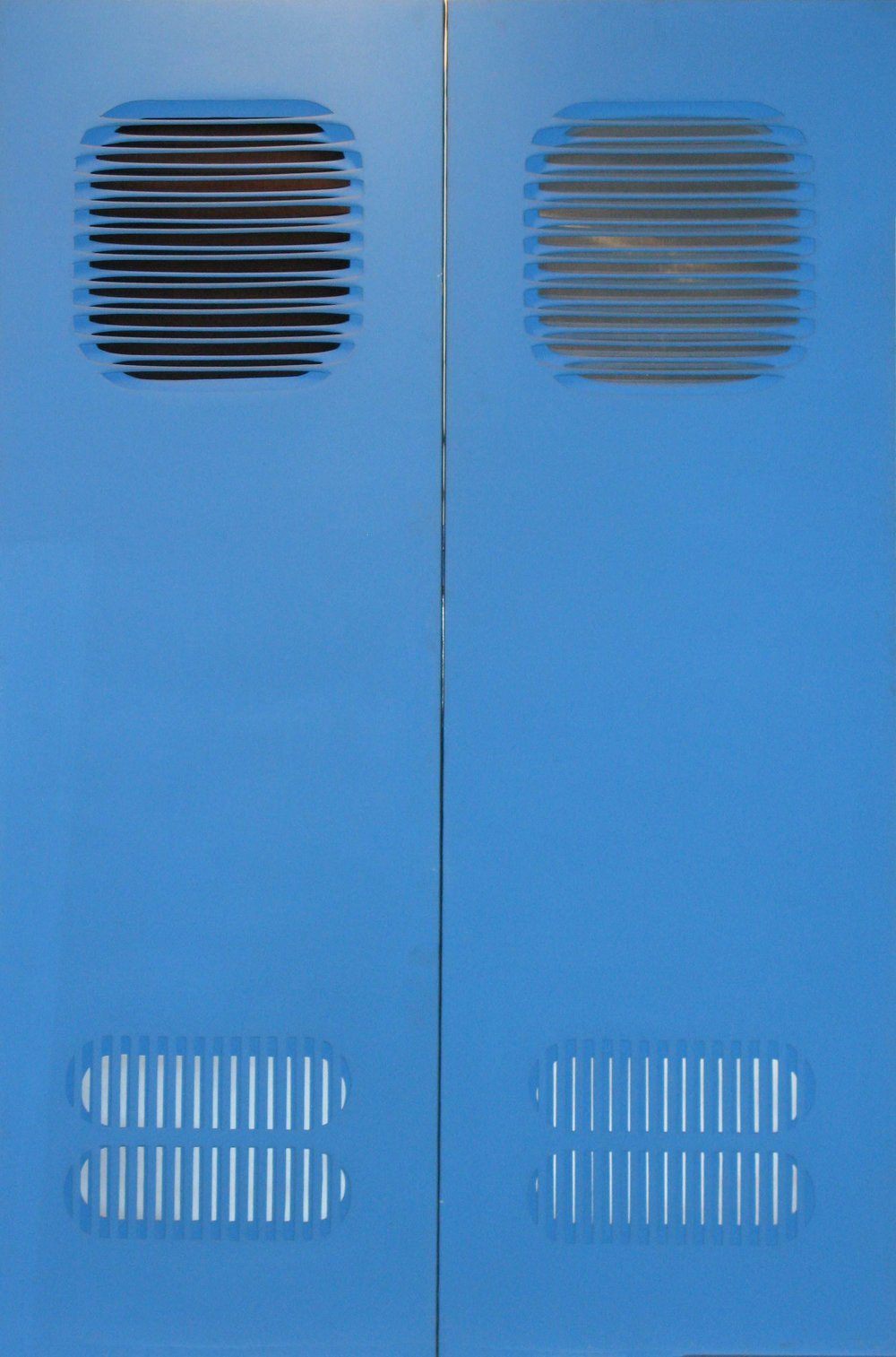 Doppia Struttura in Azzurro, 1970