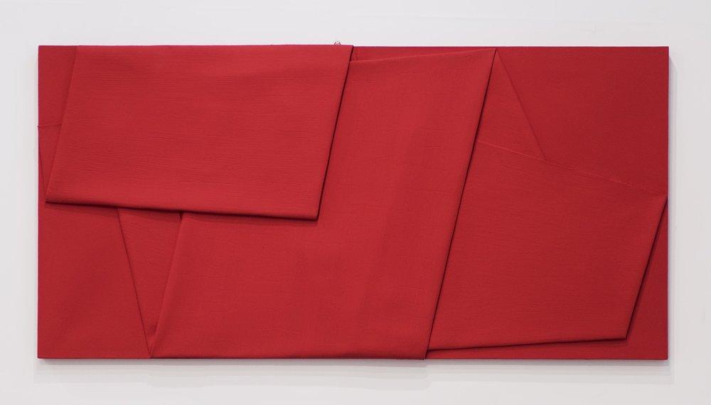 Rosso di Cadmio Piegato, 2014