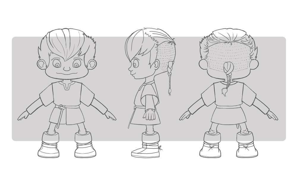 Odd & the Frost Giants - Character 3 View