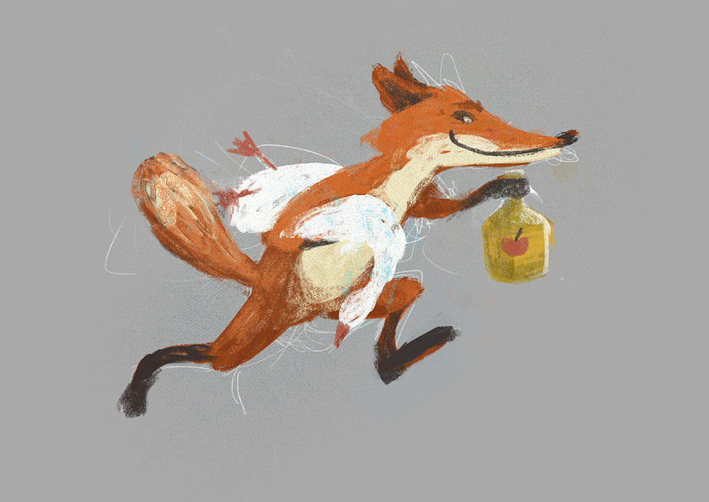 Fantastic Mr. Fox - Character Concept - Mr. Fox