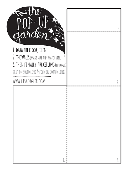 Pop-Up Garden Template