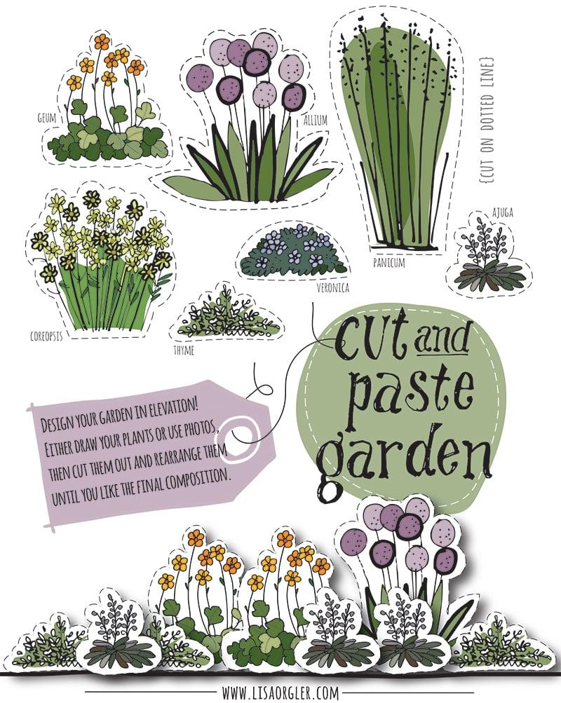Cut And Paste Garden