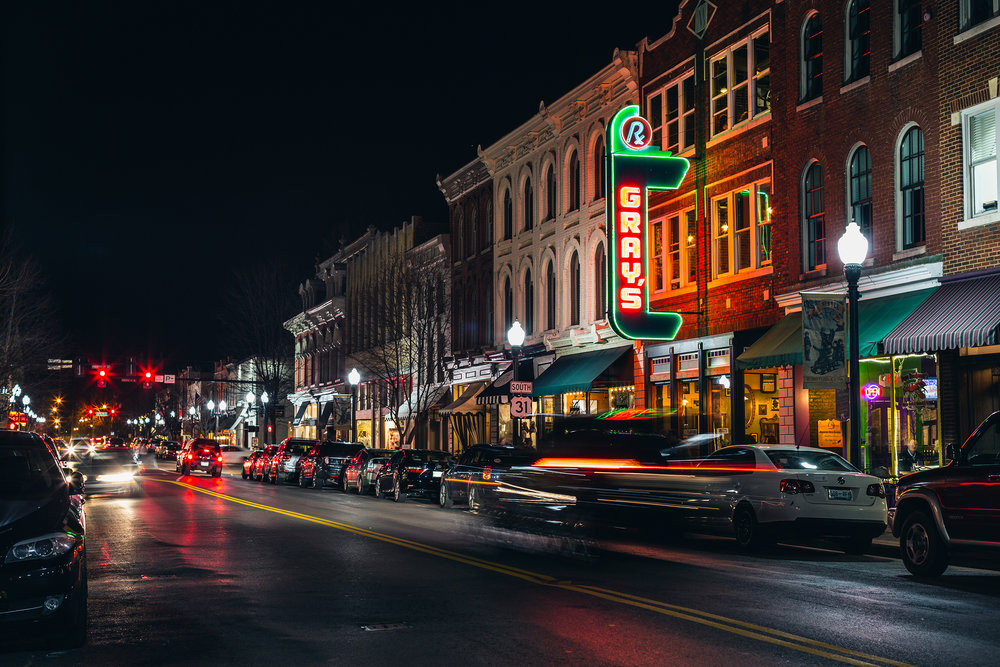Downtown Franklin, TN