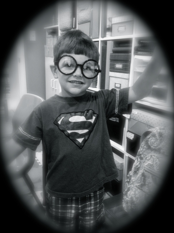 Kids, read your books and you can grow up to be a Super Nerd too!