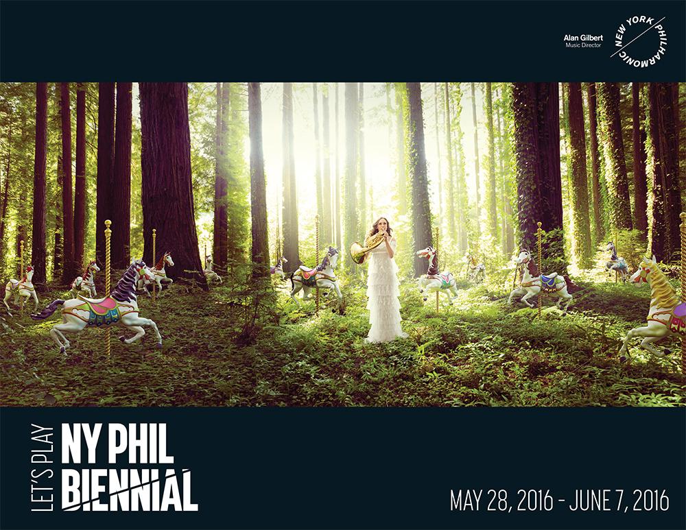 NYPHIL Biennial 2016 Announcement materials