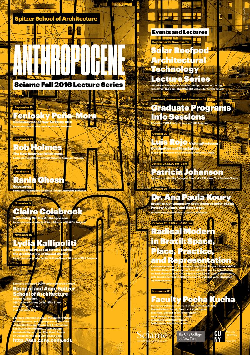 Fall 2016 Programs Poster