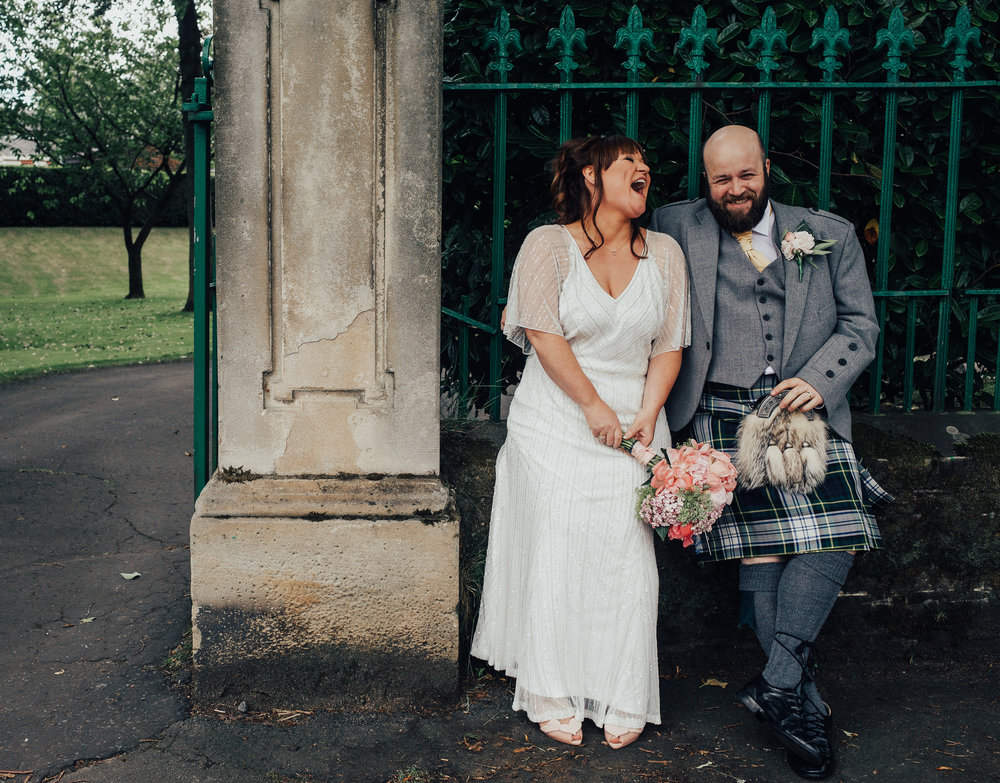 Bruce & Erika - June 2017 - We were delighted to have Patrick as photographer for our wedding in June, and would recommend him to anyone and everyone! We felt so at ease in his company, as did our family and guests, and this was reflected in the beautiful pictures he took for us. We love his informal and quirky style. He absolutely nailed it, capturing the love, spirit and ridiculous fun of the day, and the beautiful faces of the people we love!! A thousand thanks.
