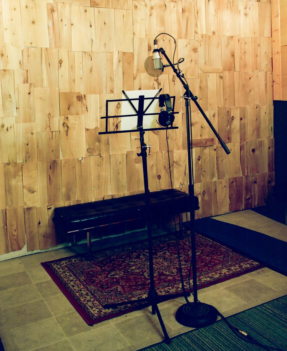 Voice-Over or ADR setup in Look to Listen Studios Live Room.jpg