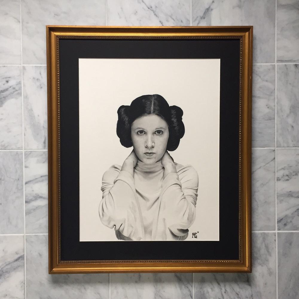 Leia Framed
