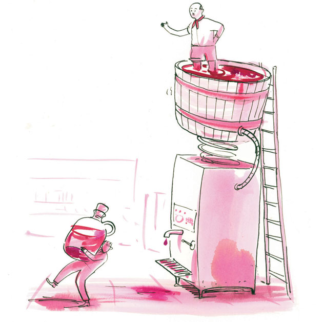 Pump It Up  Bulk wine harks back to the old days of France     Hemispheres Magazine