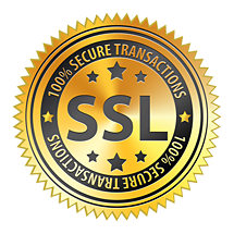 Shop confidently knowing that your transaction is protected by our 2048-bit encrypted SSL Security Certificate.