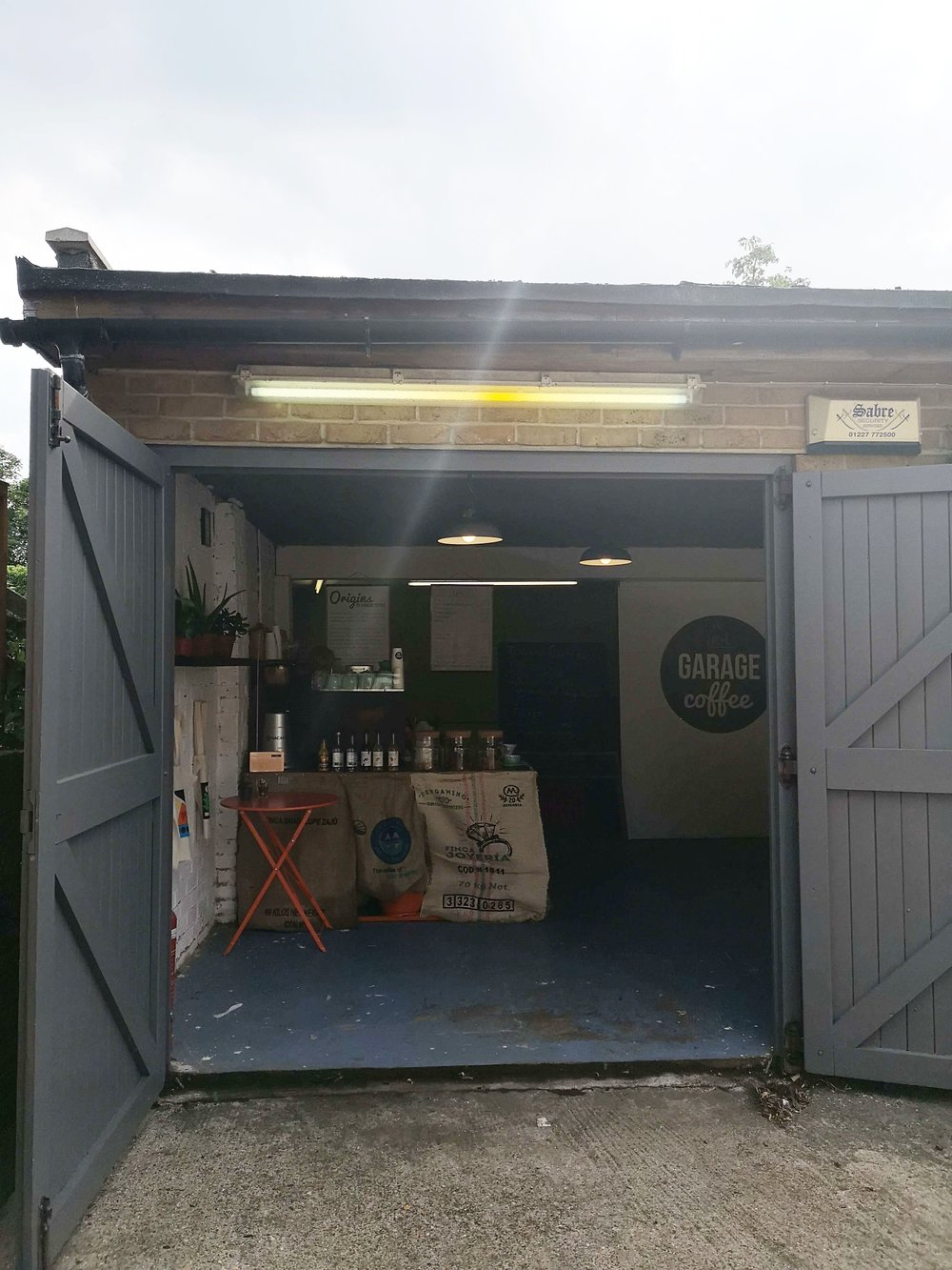 Garage Coffee Whitstable
