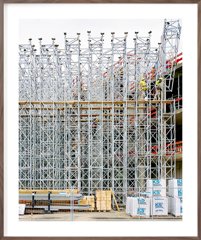 Coeur Cologne, 2016  (kleiner AP 80x67 cm)   Großformataufnahme, Pigmentdruck   Aluminiumträgerplatte, Distanzrahmen Entspiegeltes Glas (Mirogard)  Preis, mögliche Größen und Auflage auf Anfrage