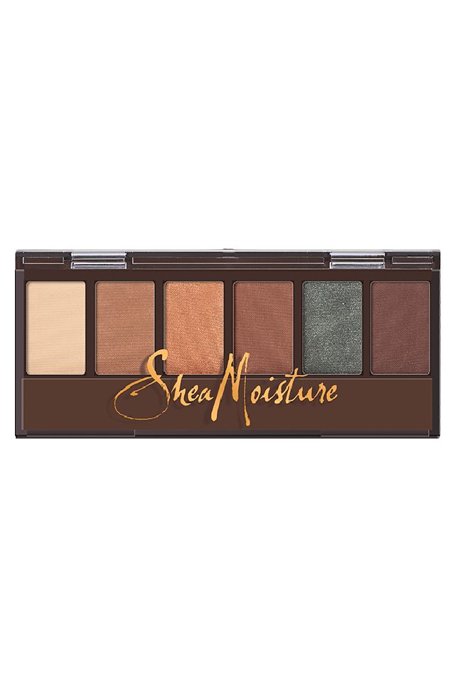 Shea Moisture Mineral Eyeshadow Palette in Desert Sand (Bone & Sandstone)