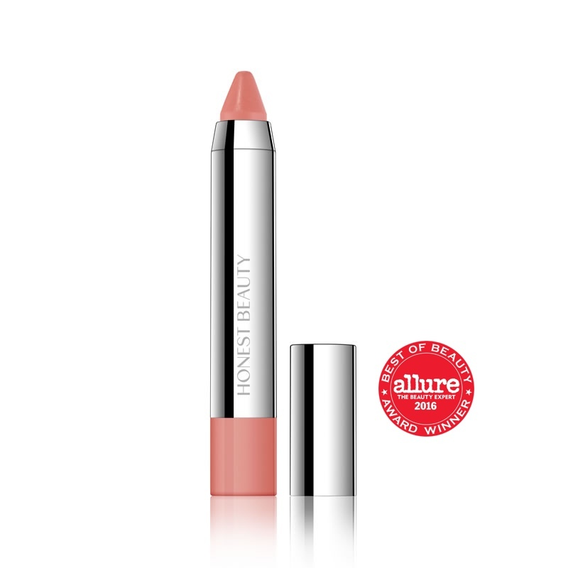 Honest Beauty Truly Kissable Lip Crayon (Sheer Blossom Kiss)
