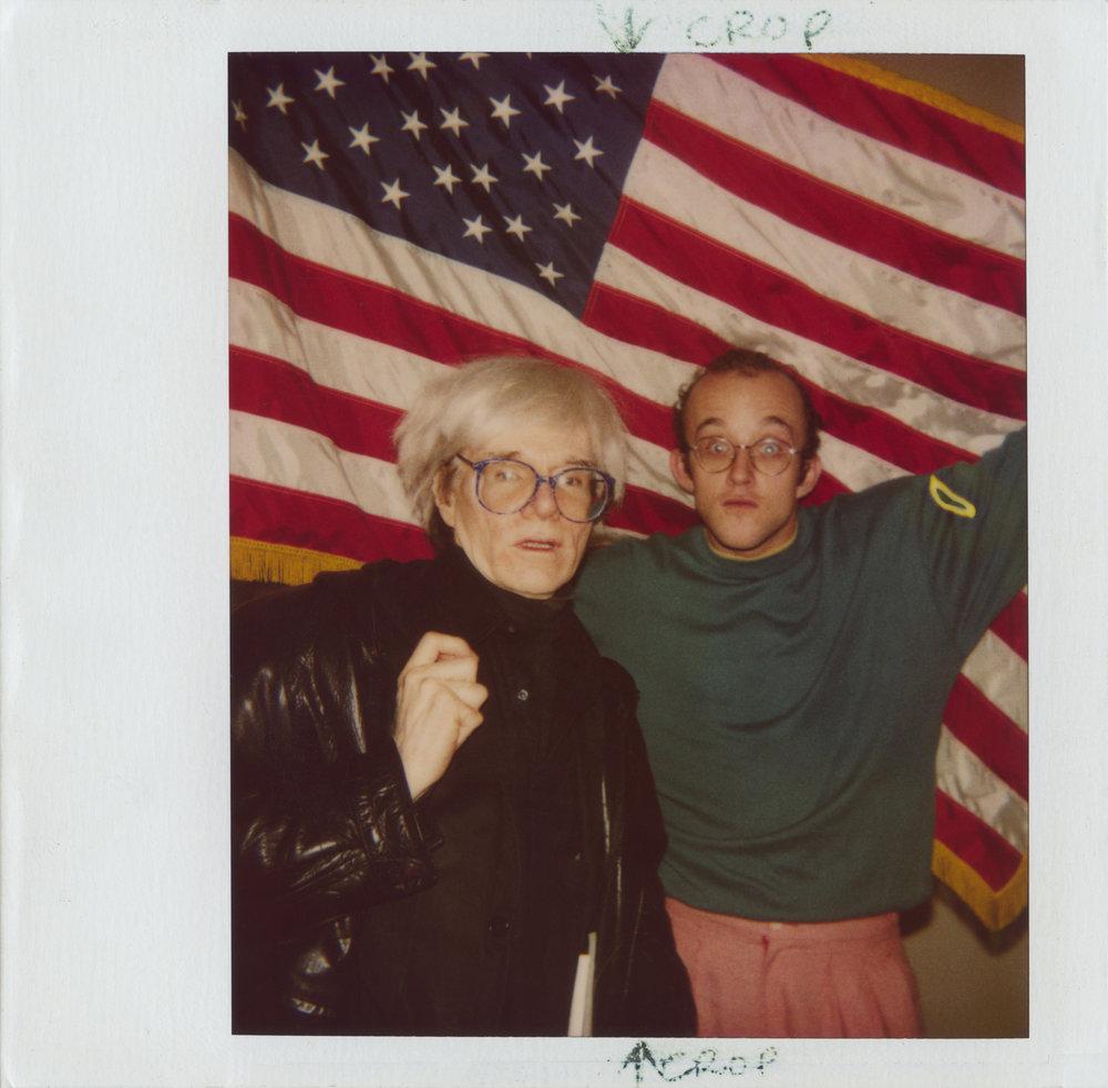 Andy Warhol and Keith Haring.