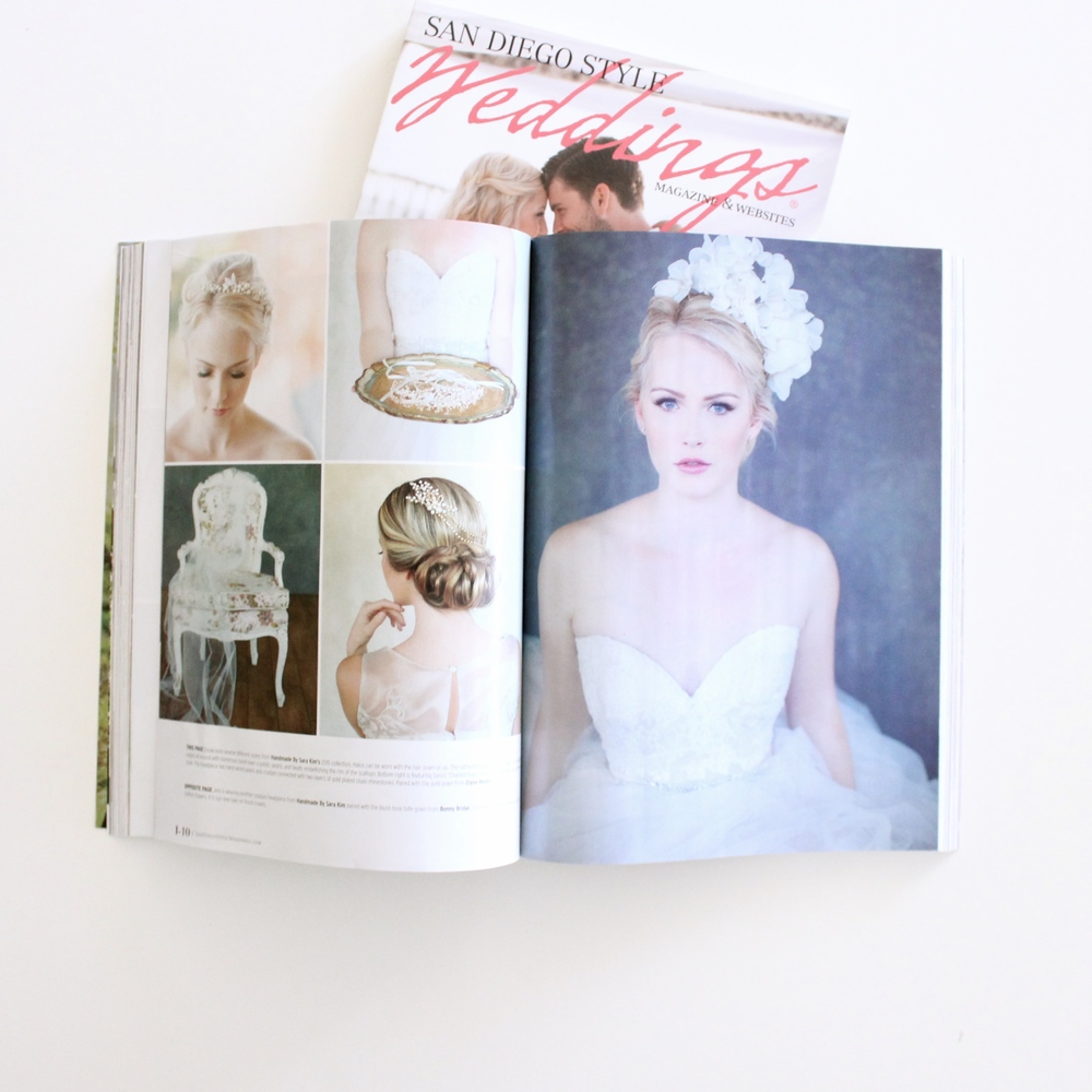 FEATURED ON SAN DIEGO WEDDINGS MAGAZINE