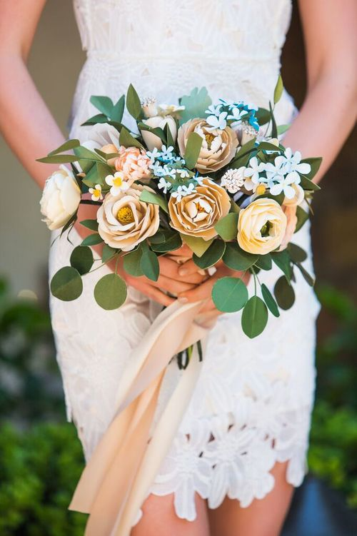 Customized Bridal Bouquet — Handmade by Sara Kim