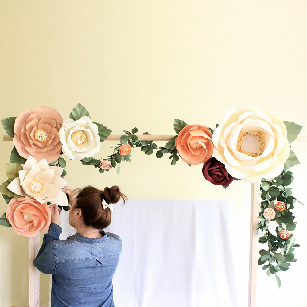 Delighted make big paper flowers ideas wedding and flowers generous how to make big paper flowers pictures inspiration mightylinksfo Gallery