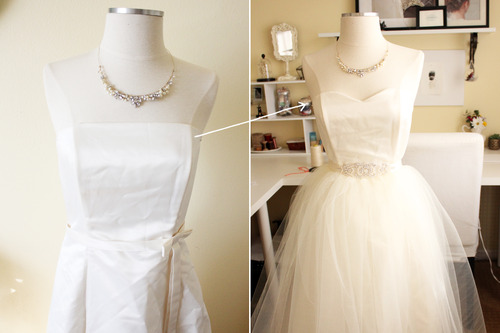 DIY Wedding Dress in the Making — Handmade by Sara Kim