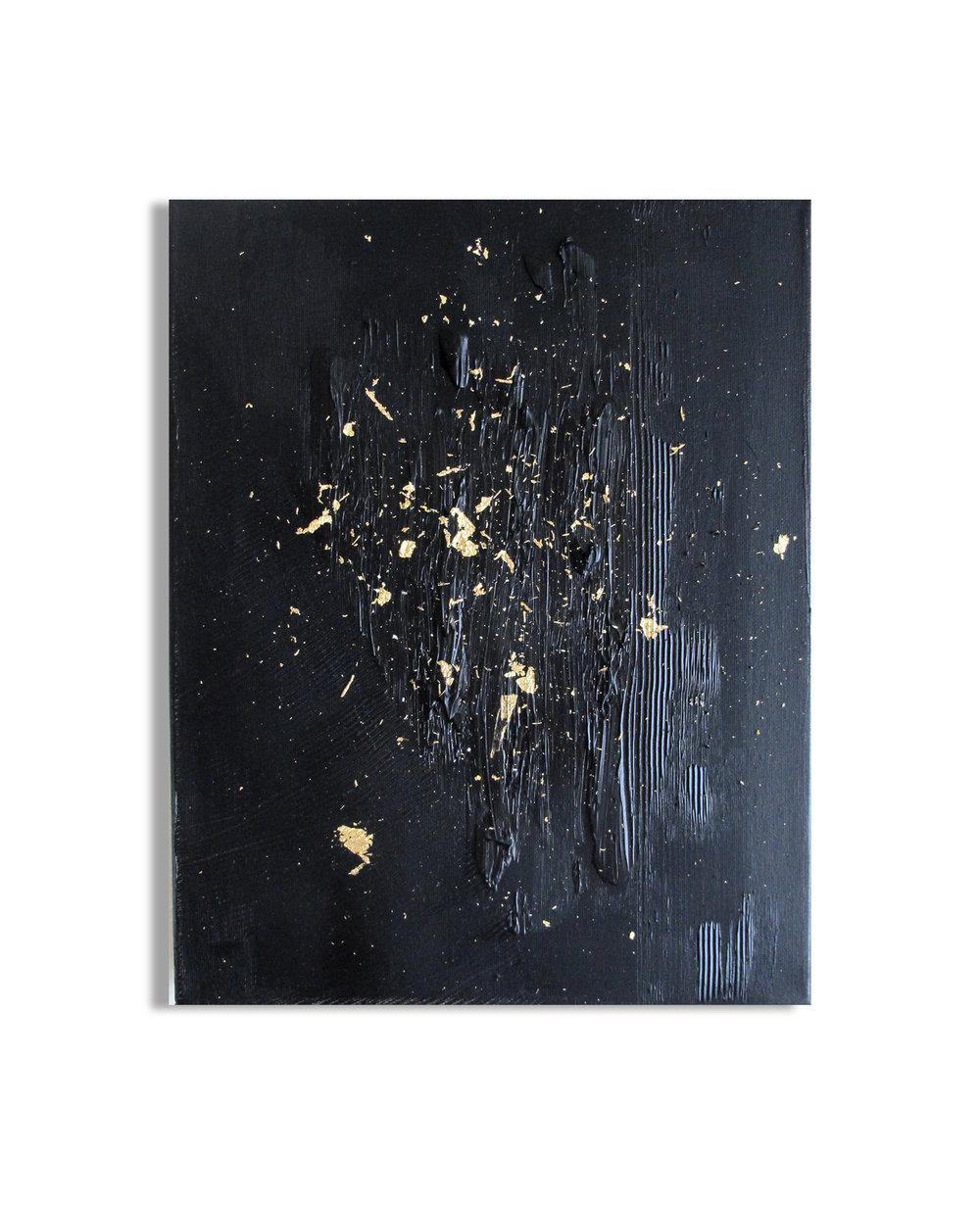 14 X 11 OIL / GOLD LEAF
