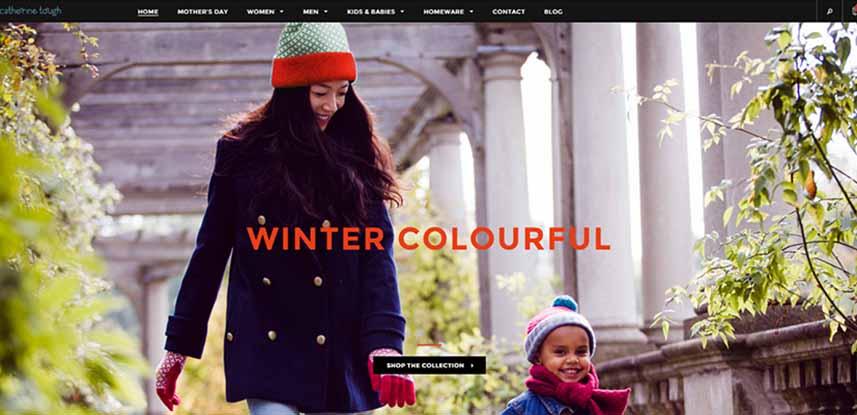Catherine Tough Ecommerce Website