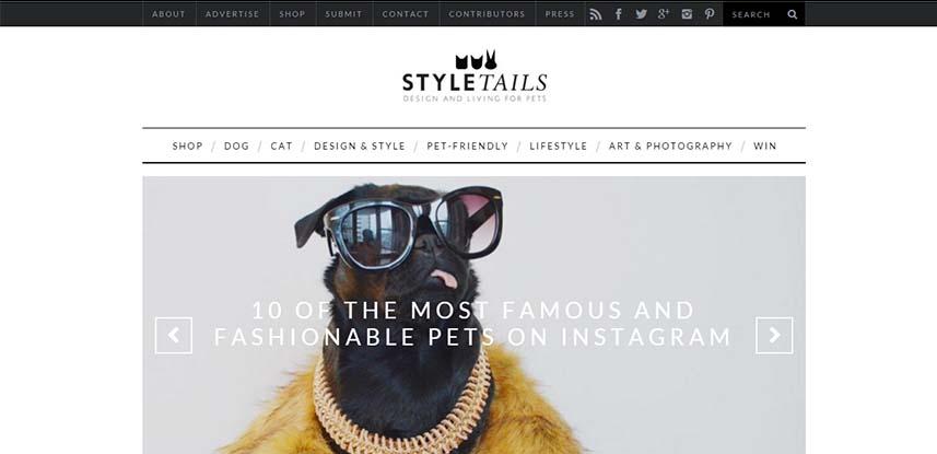Style Blog Web Design